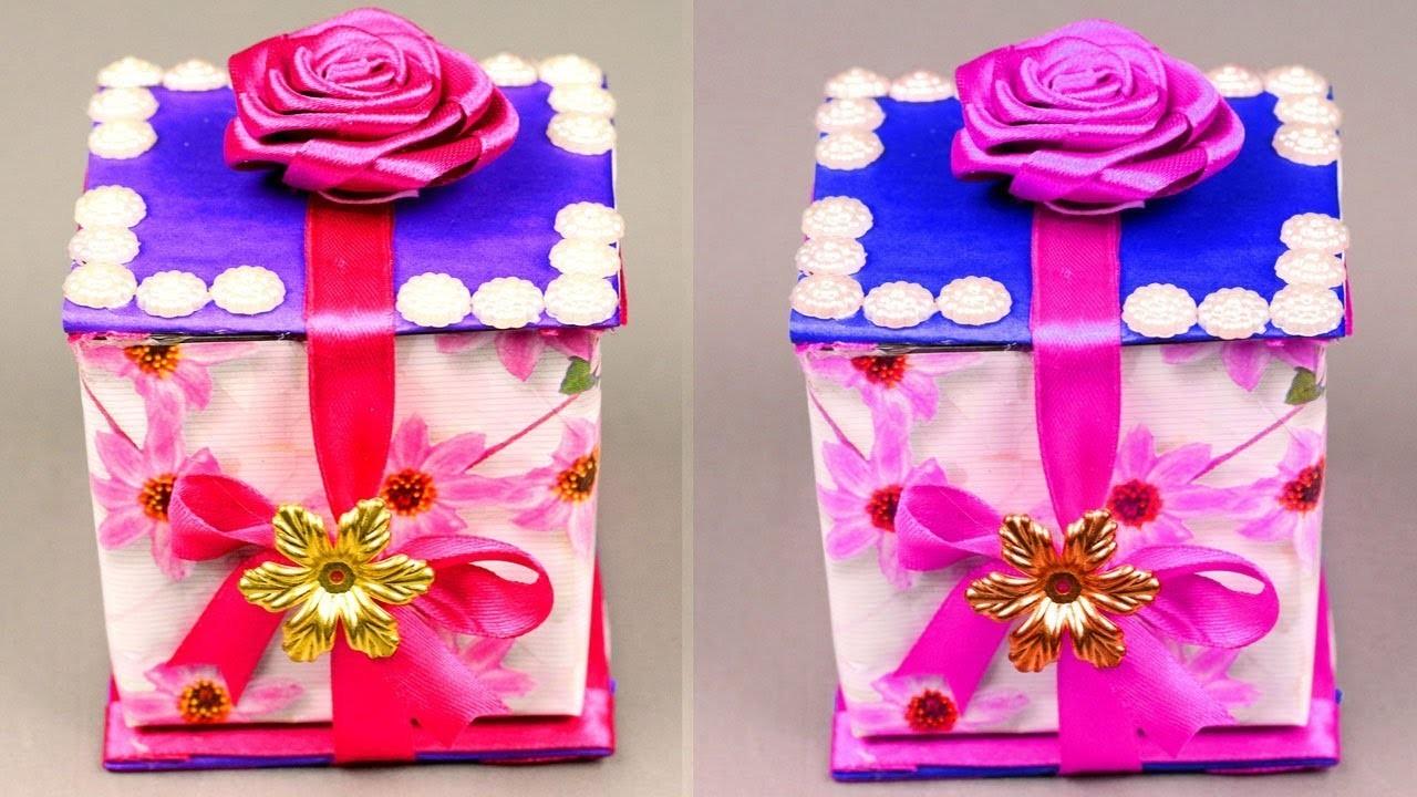 Diy Paper Crafts Surprise Gift Box Ideas Gift Box Ideas Craft