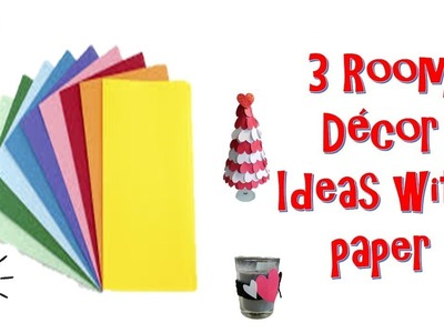 Diy Room decor ideas with paper for valentines day | budget decor | Home decor | wall decor| paper