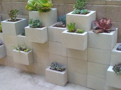 Do Not Toss Away Your Old Cement Blocks. This is What You Can Do With Cinder Blocks