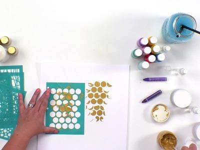 Glaze, Glitter and Art Crayons with Vicki Boutin