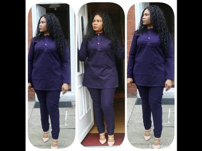 How To make A Female Senator\Kaftan Top