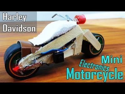 How to Make a Mini Electric Motorcycle(Harley Davidson)