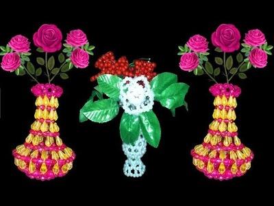 How to make beaded, rose beads flower, Putir golapdiy craft,