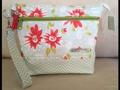 In a Pickle Knitting Tutorial Three Zipper Bag Part 3