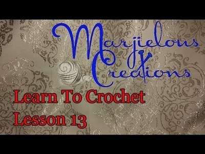 Learn to crochet 13, colour working and clusters