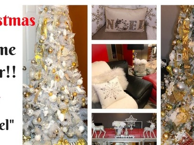 "MY CHRISTMAS 2017 HOME TOUR!! ""NOEL""-CHRISTMAS DECOR ON A BUDGET!"