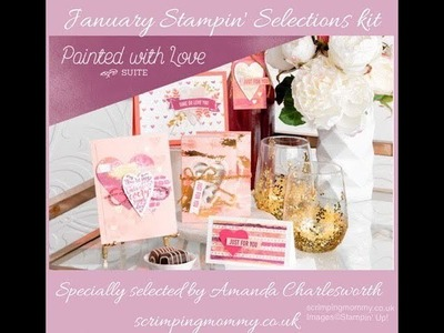 My January Stampin' selections kit reveal
