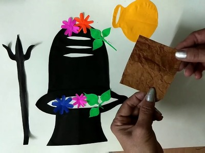 Rajni Sharma art & craft club how to make shivratri for kids