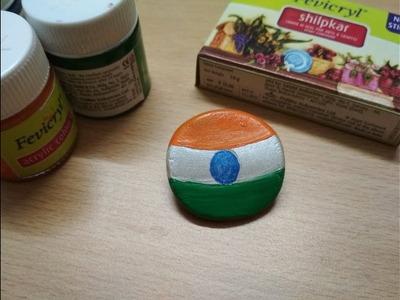 Republic day craft | Easy craft | Tiranga Badge