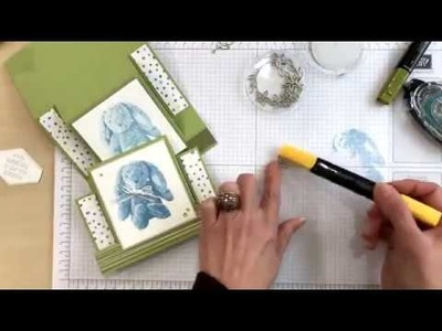 Stamp Your Art Out with Rachel: Center Step Fun Fold Card