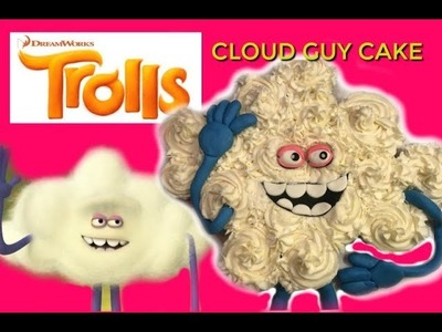 TROLLS CLOUD GUY Cupcake Cake I DIY I How to Cook Craft & Kids