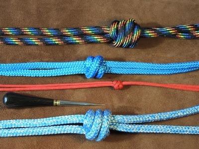 Two Strand Matthew Walker Knot, Single, Double, Treble, Easy to Tie Tutorial ????