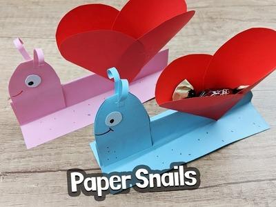 Valentine's day craft inspiration for kids - Lovely snail