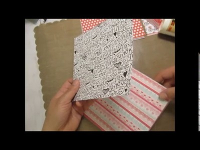 Valentine's Projects 2018: Loaded Pocket Flip Book Tutorial