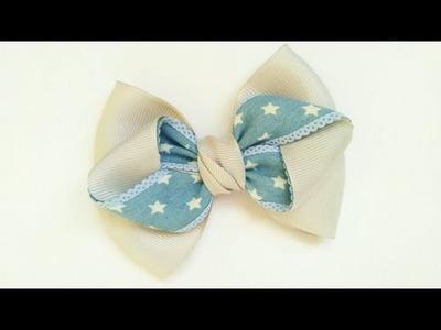 Beautiful Ribon Bow   How To Make | DIY by Elysia Handmade