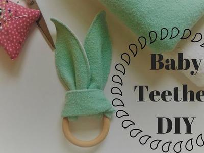 Bunny Ear Teether DIY I Tutorial