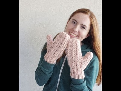 Crochet Sprig Stitch Mittens Part 5: Making the thumb and finishing up