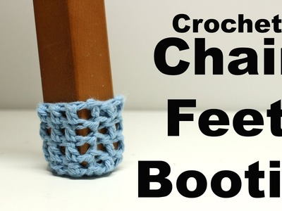 Crochet Table & Chair Booties