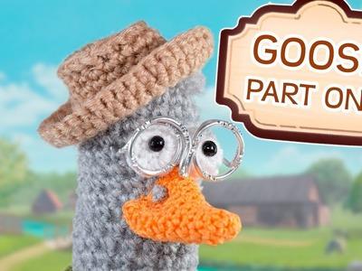 Crochet Tutorial Goose - Part 1
