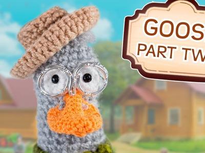 Crochet Tutorial Goose - Part 2