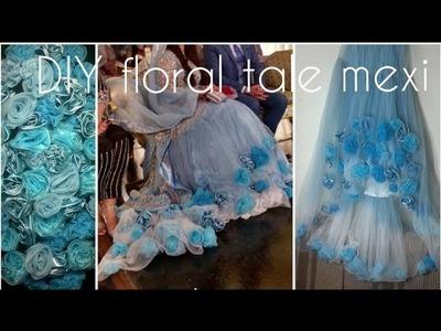 Diy bridal bridal maxi for wedding. Best for walima new design