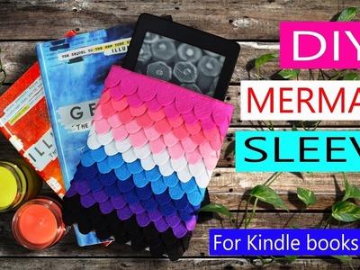 DIY MERMAID SLEEVE   BOOKS   KINDLE   iPAD tutorial