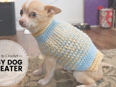 Easy Crochet Dog Sweater  Part 2 of 2 | Last Minute Laura