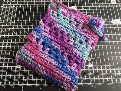 Easy Crochet String Pouch Tutorial