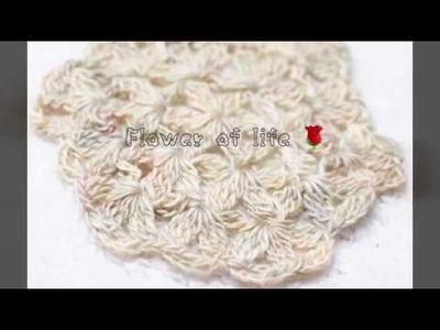 Flower of life - crochet motif (English)