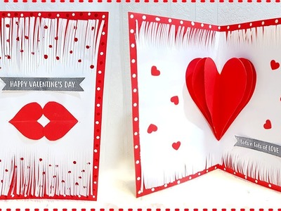 Handmade Card for Boyfriend Birthday | DIY Valentine Card for Boyfriend