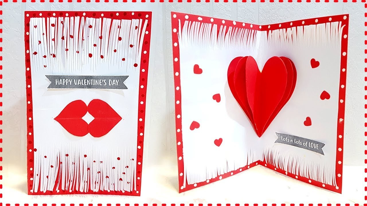 Handmade Card For Boyfriend Birthday Diy Valentine Card For Boyfriend