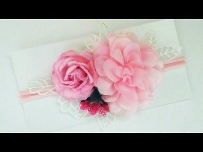 Headband Ideas : Flowers Headband | DIY by Elysia Handmade