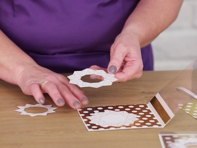 How to craft a decoupaged acetate card with Joey Burdett