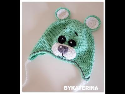How to crochet a Teddy Bear Benie