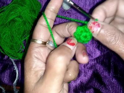 How to crochet beautiful shocks for kanah ji