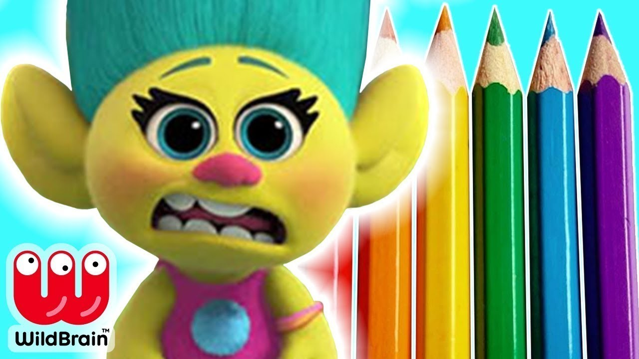 How To Draw Your Own Smidge ???? Trolls Full Movie ???? DIY Drawing Ideas For Kids ???? Crafty Kids