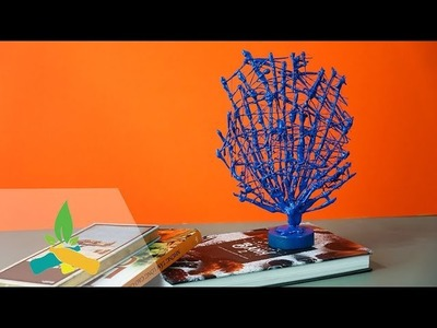 How to make a blue coral tree | DIY Tutorial