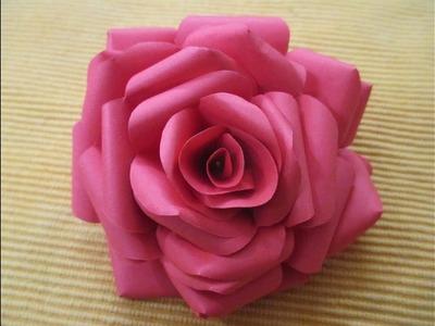 Paper flower rose making vaydileforic paper flower rose making mightylinksfo
