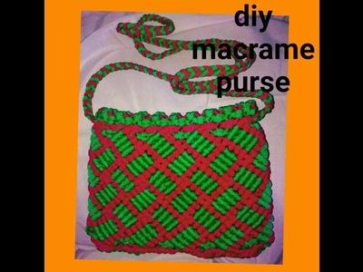 How to make macrame handbag # design 14