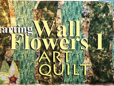 How to Sew an Art Quilt WF 1   Plan & Lay Out Background   Zazu's Tutorials
