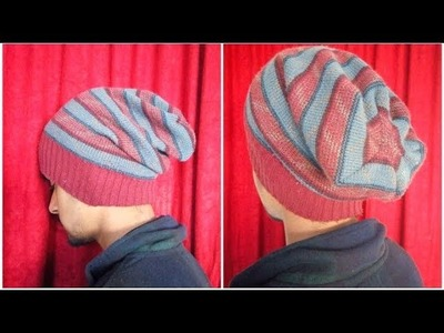 How To - Simple beanie cap with an expired sweeter
