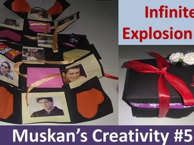 Infinite Explosion Box Tutorial | DIY | Love Explosion Box for your Dear Ones. .