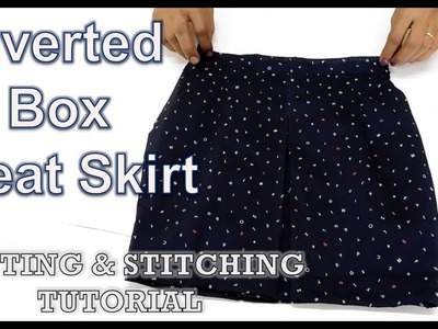 Inverted Box Pleat Skirt | How To Sewing Tutorial | Diy