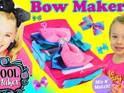 Jojo Siwa Hair Bow Maker Tutorial & Fun DIY Crafts Toys For Kids