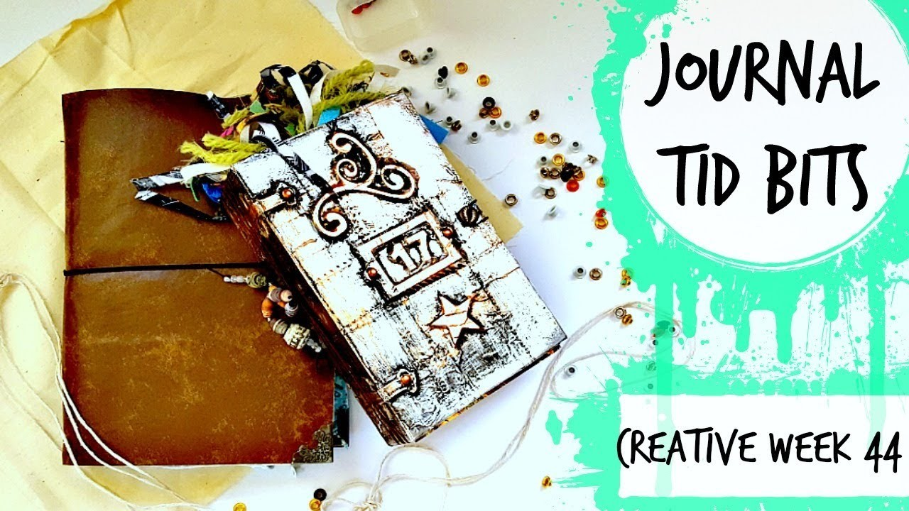 Journal TId Bits: Creative Week 44: DIY Folio, Flow Book Flip & Mini VLog