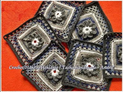 Learn How To Crochet Beautiful Granny Square - Step by step for beginners