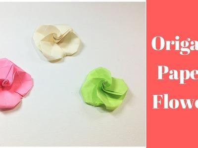 Paper diy miniature 3d paper flower pot emma diy 20 diy origami flower easy tutorial how to make paper flowers mightylinksfo