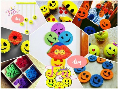 Smiley Hacks! 10 Amazing DIY Smiley Decor To Do When You're Bored | 2k18 Compilation