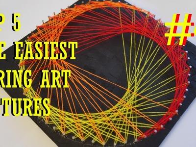 TOP 5 THE EASIEST STRING ART #4 | TRIANGLE | DIY TUTORIAL