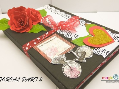 Tutorial part 2 | cute love scrapbook by MagicQuill | scrapbook ideas | MagicQuill